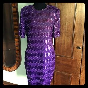 Vintage Stenay beaded/sequin dress 4 Nwt $140